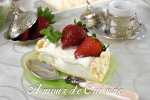 Recette Pavlova aux fraises