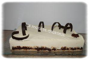 Recette Entremets mousseux chocolat blanc