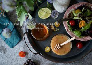 Recette Vinaigrette au miel et citron vert