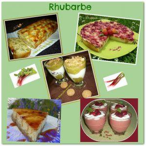 Recette Cuisinons la rhubarbe