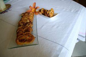 Recette Palmiers au jambon