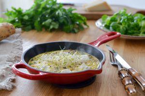 Recette Frittata aux champignons et à la ricotta