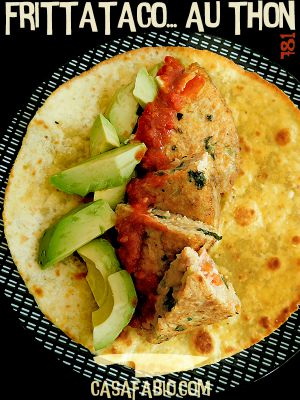 Recette Taco frittata au thon