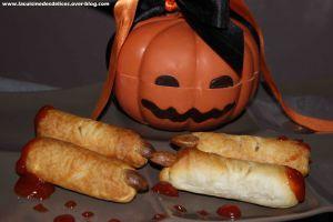 Recette Doigts de sorcières pour halloween