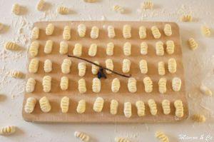 Recette Gnocchi vanille / fève tonka