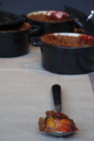 Recette Crumble de prunes