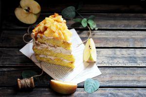 Recette Layer cake pommes & caramel