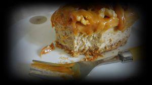 Recette Cheesecake aux dattes/caramel et noix