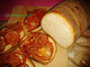 """Recette Bruschette de pain de """"""""Tumminìa"""" ou pain noir"""