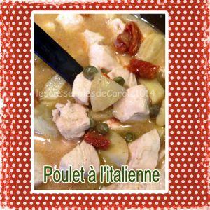 Recette Poulet à l'italienne (cuisine du placard)