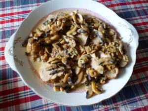 Recette Filet mignon de porc aux champignons