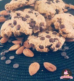 Recette Cookies moelleux à l'okara ( avec ou sans thermomix )