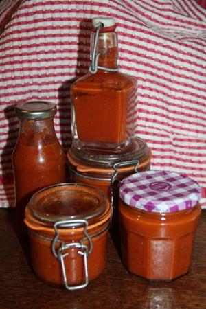 """Recette Coulis de tomates fraiches """"hot"""""""