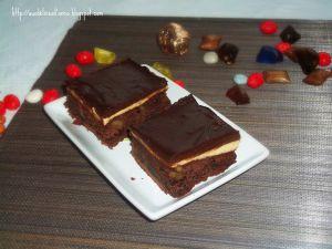 Recette Brownie  mascarpone