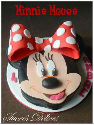 Recette Gâteau Minnie Mouse