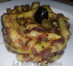 Recette Haricot beurre à la tapenade d'olives noires