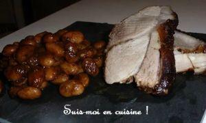 Recette Rouelle de porc et haricots blancs
