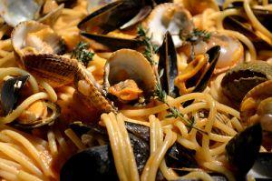 Recette Spaghettoni aux Fruits de Mer