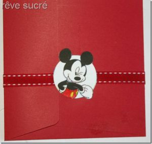 Recette Invitation Minnie