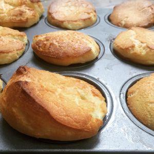 Recette Popovers, les Yorkshire puddings plutôt sucrés