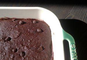 Recette Brownie aux haricots noirs