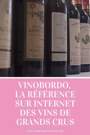 Recette VINOBORDO, la référence sur internet des grands crus de Bordeaux