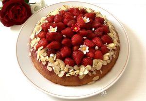 Recette Gâteau renversé aux fraises