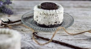 Recette Mini cheesecake Oreo sans cuisson {Happy birthday}