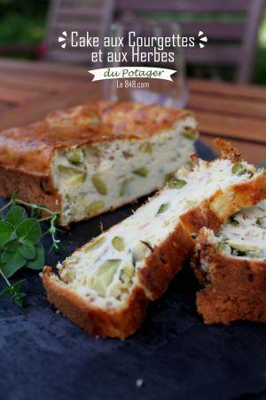Recette Cake aux Courgettes et aux Herbes du Jardin