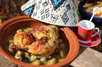 Recette Poulet mhamer-poulet a la marocaine