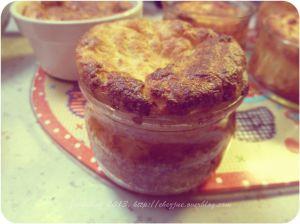 Recette Soufflé purée et poulet. (on cuisine les restes)