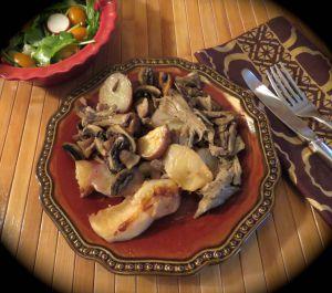 Recette Délice de canard confit aux pommes +