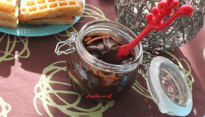 Recette Pâte à tartiner chocolat et orange au thermomix
