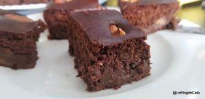 Recette Gâteau au chocolat et purée de pommes (sans lactose, sans gluten et ig bas)