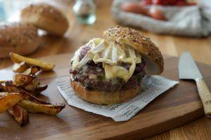 Recette Burger maison au Neufchatel