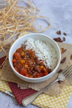 Recette Chili sin carne au haché de soja (vegan)