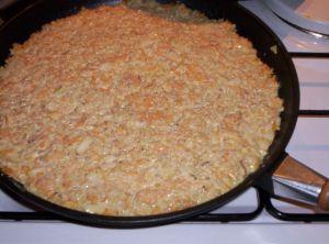 Recette Galette de fenouil au maïs