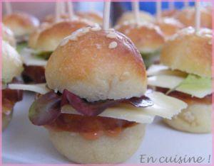 Recette Mini burgers franc-comtois