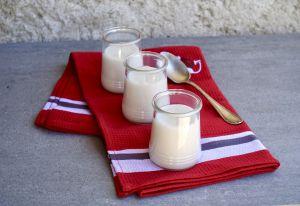 Recette Crème au lait d'amande et vanille