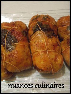 Recette Paupiettes de cuisse de poulet