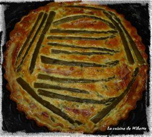 Recette Tarte aux asperges et fromage frais