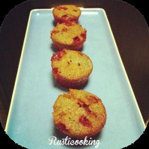 Recette Cupcakes au coulis de fruits rouge et chamallow