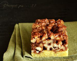 Recette Biscuits aux noix caramélisées