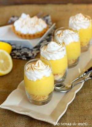 Recette Tarte au Citron Meringuée... Revisitée