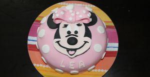 Recette Du gâteau d'anniversaire Minnie