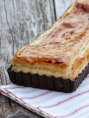 Recette Feuillantine Comtoise {feuilleté au fromage et au jambon}
