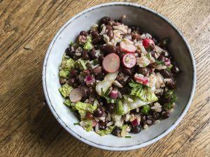 Recette Printemps/été – Salade de haricots azukis