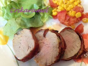 Recette Filet mignon de porc au barbecue
