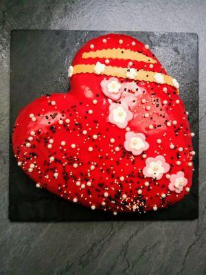 Recette Entremet passion fraise vanille