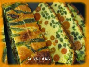 Recette Cake haut en couleurs de légumes